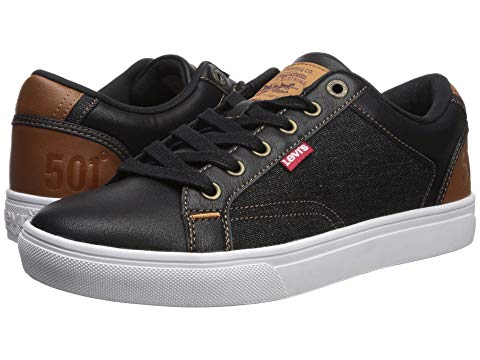 LEVI'S? SHOES スニーカー 【 JEFFREY 501 DENIM BLACK TAN 】 メンズ 送料無料