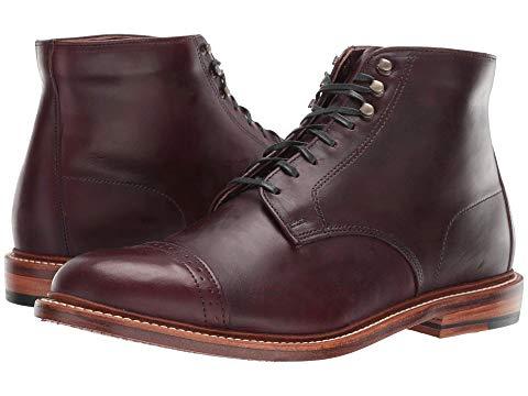 ボストニアン BOSTONIAN キャップ 帽子 No. スニーカー メンズ 【 No. 16 Cap 】 Burgundy Leather