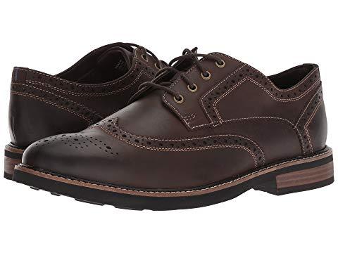 NUNN BUSH オックスフォード スニーカー メンズ 【 Oakdale Wingtip Oxford With Kore Walking Comfort Technology 】 Brown Ch