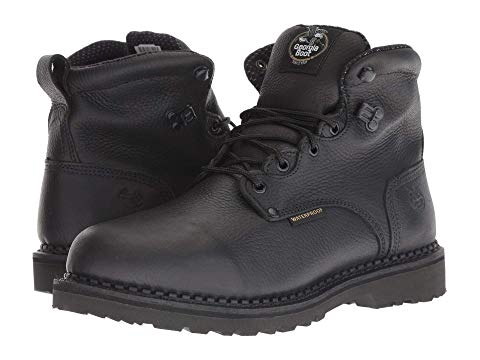 "GEORGIA BOOT ブーツ 6"" スニーカー メンズ 【 Giant 6"" Soft Waterproof Boot 】 Black"