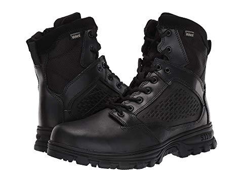 """【★スーパーセール中★ 6/11深夜2時迄】5.11 TACTICAL 6"""" メンズ ブーツ 【 Evo 6"""" Waterproof W/ Side Zip 】 Black"""
