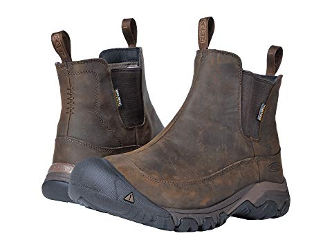 【★スーパーセール中★ 6/11深夜2時迄】KEEN ブーツ メンズ 【 Anchorage Boot Iii Waterproof 】 Dark Earth/mulch