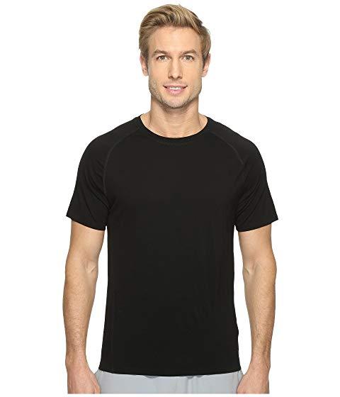 【スーパーセール中! 6/11深夜2時迄】SMARTWOOL スリーブ メンズファッション トップス Tシャツ カットソー メンズ 【 Merino 150 Baselayer Short Sleeve 】 Black