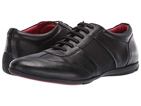 カルロスバイカルロスサンタナ CARLOS BY CARLOS SANTANA スニーカー メンズ 【 Fleetwood Low-cut 】 Black Calfskin Leather