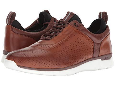 JOHNSTON & MURPHY ドレス Xc4・・ スニーカー メンズ 【 Prentiss Xc4・・ U-throat Casual Dress Sneaker 】 Mahogany Waterproof Full Grain