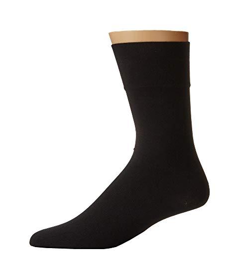 WOLFORD ソックス 靴下 インナー 下着 ナイトウエア メンズ 下 レッグ 【 Cotton Velvet Socks 】 Black