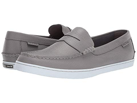 コールハーン COLE HAAN メンズ ローファー 【 Pinch Weekender 】 Grey Leather/white