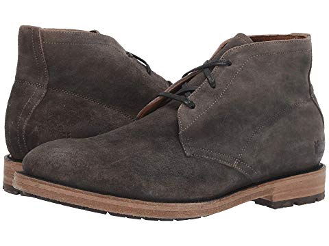 FRYE チャッカ スニーカー メンズ 【 Bowery Chukka 】 Faded Black Distressed Oiled Suede
