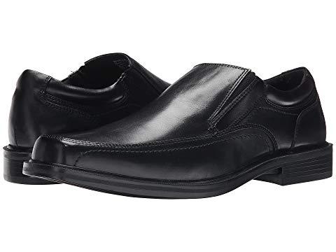 ドッカーズ DOCKERS メンズ ローファー 【 Edson Moc Toe Loafer 】 Black Polished Full Grain