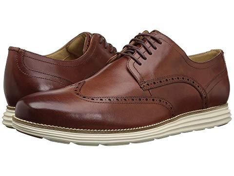コールハーン COLE HAAN グランド メンズ ビジネススニーカー 【 Original Grand Shortwing 】 Woodbury Leather/ivory
