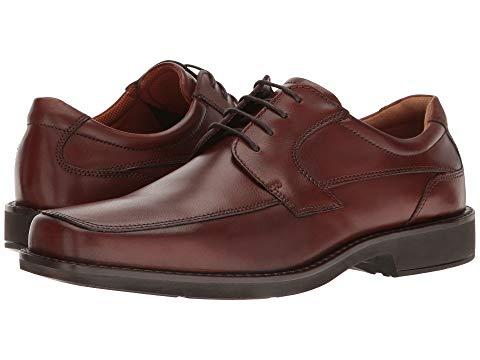 エコー ECCO シアトル メンズ ビジネススニーカー 【 Seattle Tie 】 Cognac Cow Leather
