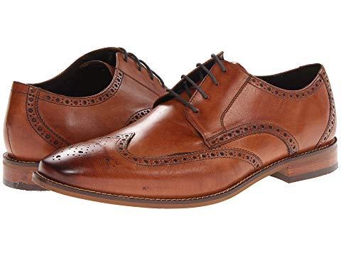 FLORSHEIM オックスフォード メンズ ビジネススニーカー 【 Castellano Wingtip Oxford 】 Saddle Tan