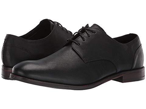 クラークス CLARKS フローレス スニーカー メンズ 【 Flow Plain 】 Black Leather