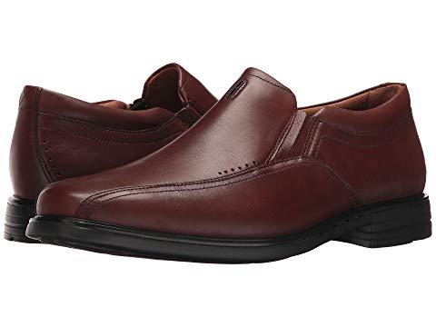 クラークス CLARKS メンズ ローファー 【 Unsheridan Go 】 Brown Leather