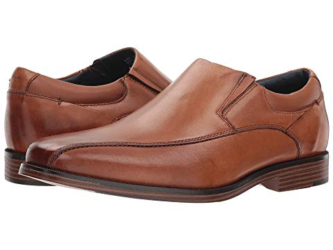 ドッカーズ DOCKERS フランチャイズ 2.0 メンズ 【 Franchise 2.0 Bike Toe Loafer 】 Butterscotch Polished Full Grain