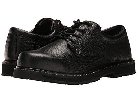 DR. SCHOLL'S WORK メンズ ビジネススニーカー 【 Harrington Ii 】 Black Leather