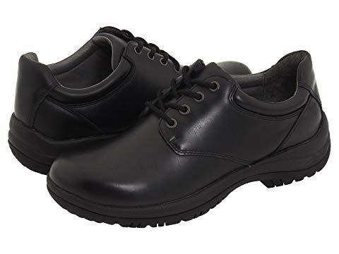 ダンスコ DANSKO メンズ ビジネススニーカー 【 Walker 】 Black Smooth Leather