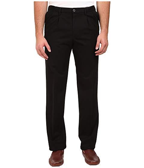 ドッカーズ DOCKERS カーキ クラシック & 【 BIG TALL SIGNATURE KHAKI D3 CLASSIC FIT PLEATED BLACK X STRETCH 】 メンズファッション ズボン パンツ 送料無料