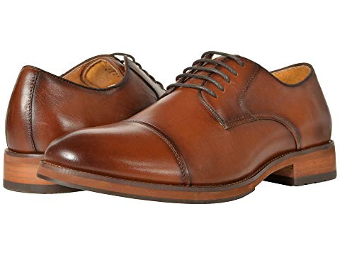 FLORSHEIM キャップ 帽子 オックスフォード メンズ ビジネススニーカー 【 Blaze Cap Toe Oxford 】 Cognac Smooth