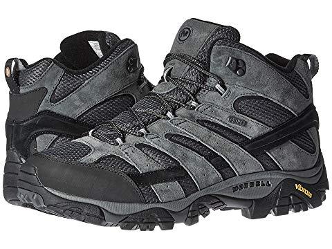 【海外限定】ミッド スニーカー 靴 メンズ靴 【 MERRELL MOAB 2 MID WATERPROOF 】【送料無料】