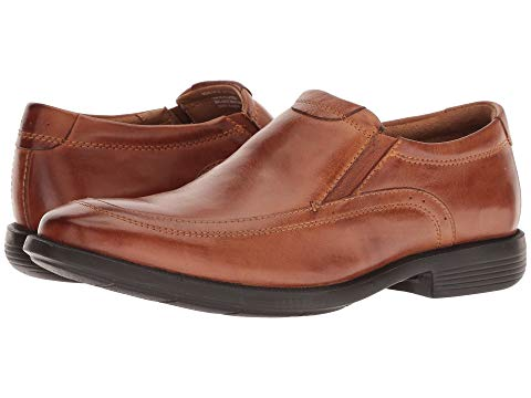 NUNN BUSH スニーカー 【 DYLAN MOC TOE LOAFER WITH KORE WALKING COMFORT TECHNOLOGY COGNAC 】 メンズ 送料無料