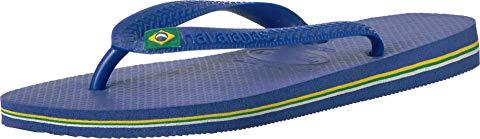 HAVAIANAS 青 ブルー スニーカー 【 BLUE HAVAIANAS BRAZIL FLIP FLOPS MARINE 】 メンズ スニーカー