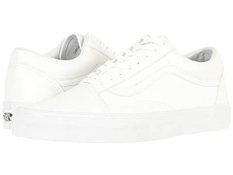 バンズ VANS Skool・・ スニーカー メンズ ユニセックス 【 Old Skool・・ 】 (classic Tumble) True White