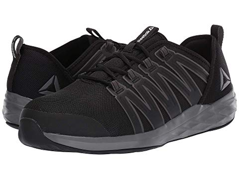 REEBOK WORK スニーカー メンズ 【 Astroride Work 】 Black/dark Grey