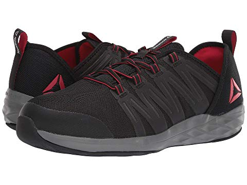 REEBOK WORK スニーカー メンズ 【 Astroride Work 】 Black/red/dark Grey
