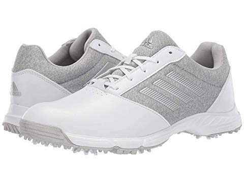 アディダスゴルフ ADIDAS GOLF テック レスポンス スニーカー レディース 【 Tech Response 】 White/silver Metallic/grey Two