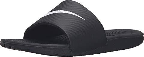 ナイキ NIKE サンダル 黒 ブラック 白 ホワイト スニーカー 【 SLIDE BLACK WHITE NIKE KAWA 】 メンズ スニーカー