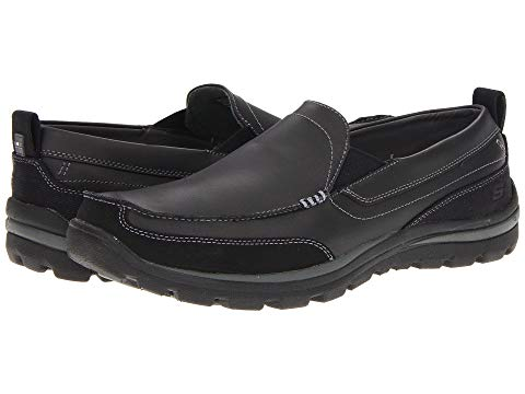 SKECHERS スニーカー 【 RELAXED FIT SUPERIOR GAINS BLACK 】 メンズ 送料無料