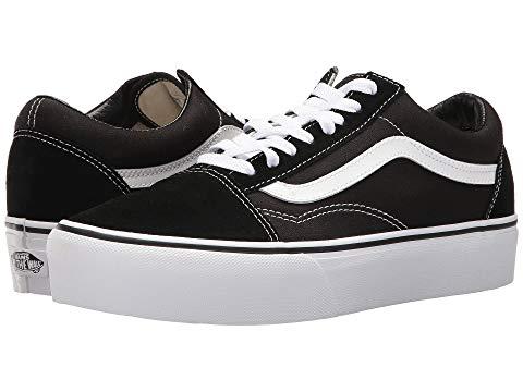 バンズ VANS スニーカー レディース 【 Old Skool Platform 】 Black/white