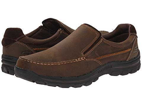 SKECHERS スニーカー メンズ 【 Relaxed Fit Braver - Rayland 】 Dark Brown