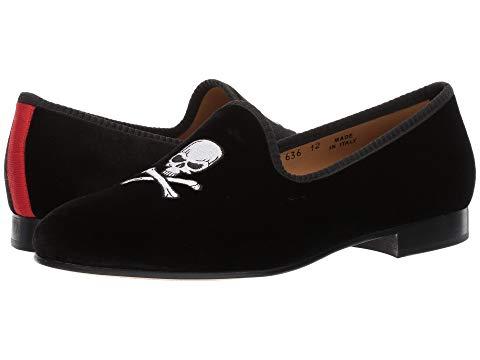 【スーパーセール中! 6/11深夜2時迄】デルトロ DEL TORO スニーカー メンズ 【 Prince Loafer 】 Black Skull