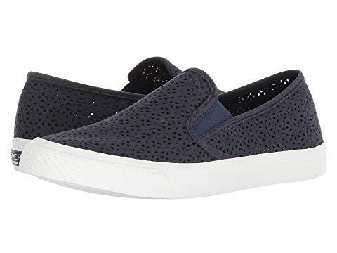 【海外限定】スニーカー レディース靴 靴 【 SPERRY SEASIDE NAUTICAL PERF 】【送料無料】