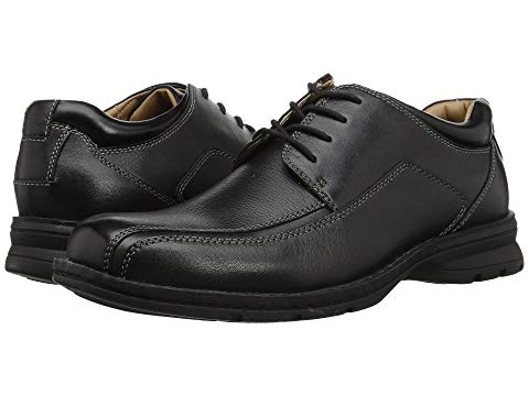 【スーパーセール中! 6/11深夜2時迄】ドッカーズ DOCKERS オックスフォード スニーカー メンズ 【 Trustee Moc Toe Oxford 】 Black Tumbled Leather