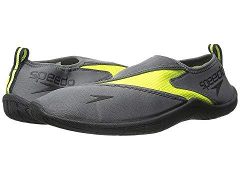 【スーパーセール商品 12/4-12/11】SPEEDO プロ 3.0 スニーカー 【 SURFWALKER PRO GREY SAFETY YELLOW 】 メンズ 送料無料