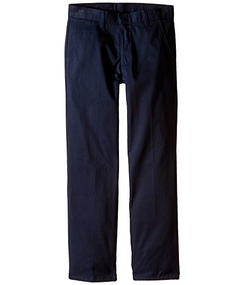 【海外限定】キッズ パンツ 【 REGULAR FIT FLAT FRONT PANTS BIG KIDS 】