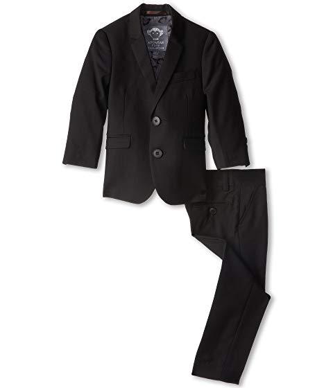 アパマンキッズ APPAMAN KIDS クラシック キッズ ベビー マタニティ トップス Tシャツ ジュニア 【 Two Piece Lined Classic Mod Suit (toddler/little Kids/big Kids) 】 Black