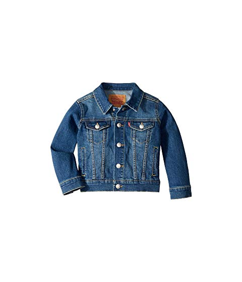 LEVI'S KIDS トラッカー LEVI'S 【 KIDS TRUCKER JACKET LITTLE WASHED 】 キッズ ベビー マタニティ コート