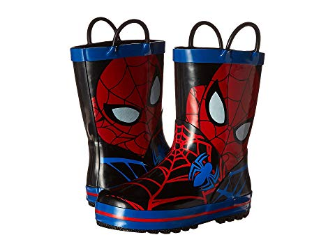 【海外限定】ブーツ キッズ 【 SPIDERMAN RAIN BOOT TODDLER LITTLE KID 】