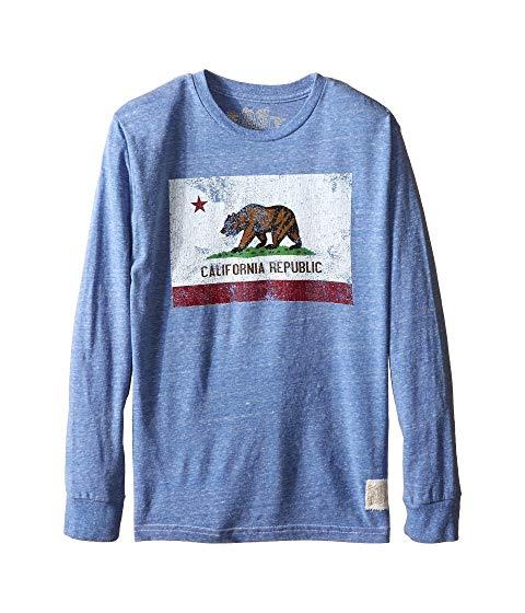 【海外限定】スリーブ カリフォルニア Tシャツ マタニティ ベビー 【 SLEEVE LONG TRIBLEND CALIFORNIA FLAG TEE BIG KIDS 】