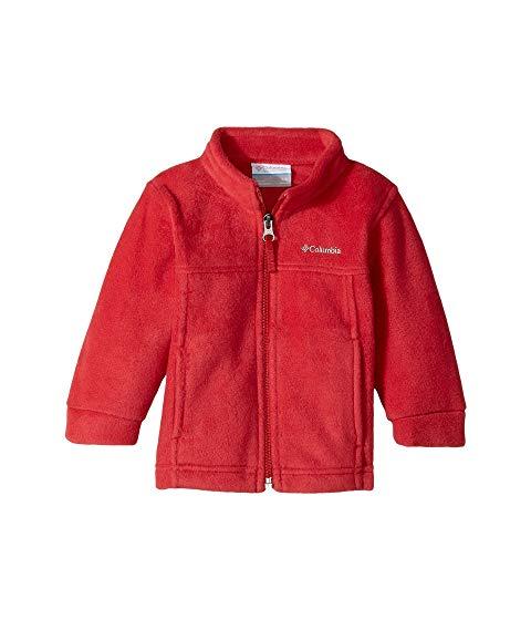 コロンビアキッズ COLUMBIA KIDS フリース 赤 レッド MT・・ 【 RED COLUMBIA KIDS STEENS II FLEECE INFANT MOUNTAIN 】 キッズ ベビー マタニティ コート