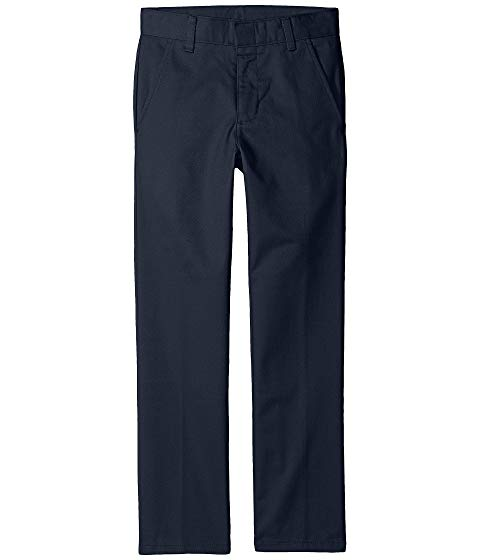 NAUTICA KIDS スリム キッズ ベビー マタニティ ボトムス ジュニア 【 Slim Fit Flat Front Pants (big Kids) 】 Navy