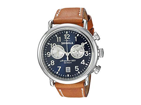SHINOLA DETROIT デトロイト 【 SHINOLA DETROIT THE RUNWELL 41MM 20044131 TAN BEAUMONT 】 腕時計 メンズ腕時計
