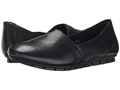 ボーン BORN レディース 【 Sebra 】 Black Full Grain Leather