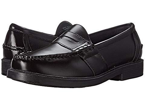 NUNN BUSH ペニー スニーカー メンズ 【 Lincoln Penny Loafer 】 Black Polished Leather