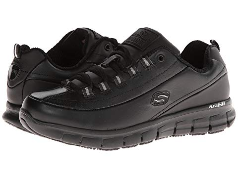 【スーパーセール商品 9/4 20:00-9/11 01:59迄】【海外限定】スケッチャーズ トラック スニーカー 靴 レディース靴 【 SKECHERS WORK SURE TRACK TRICKEL 】【送料無料】