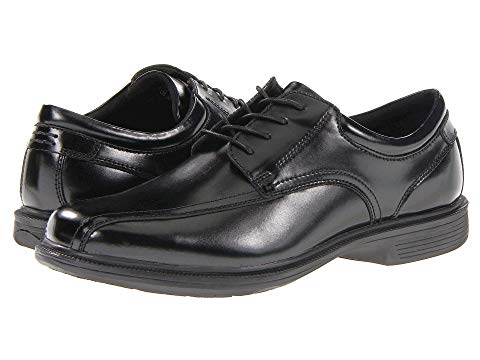 NUNN BUSH ストリート オックスフォード スニーカー メンズ 【 Bartole Street Bicycle Toe Oxford With Kore Slip Resistant Walking Comfort Technology 】 Black